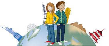 Lukas und Lara sind auf Weltreise