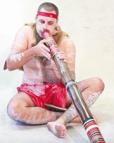 Bild Didgeridoo-Spieler Australien