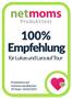 NetMoms Produkttest - 100% Weiterempfehlung