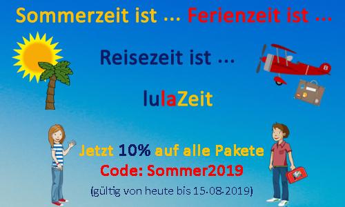 Sommeraktion - 10% Rabatt auf alle Pakete