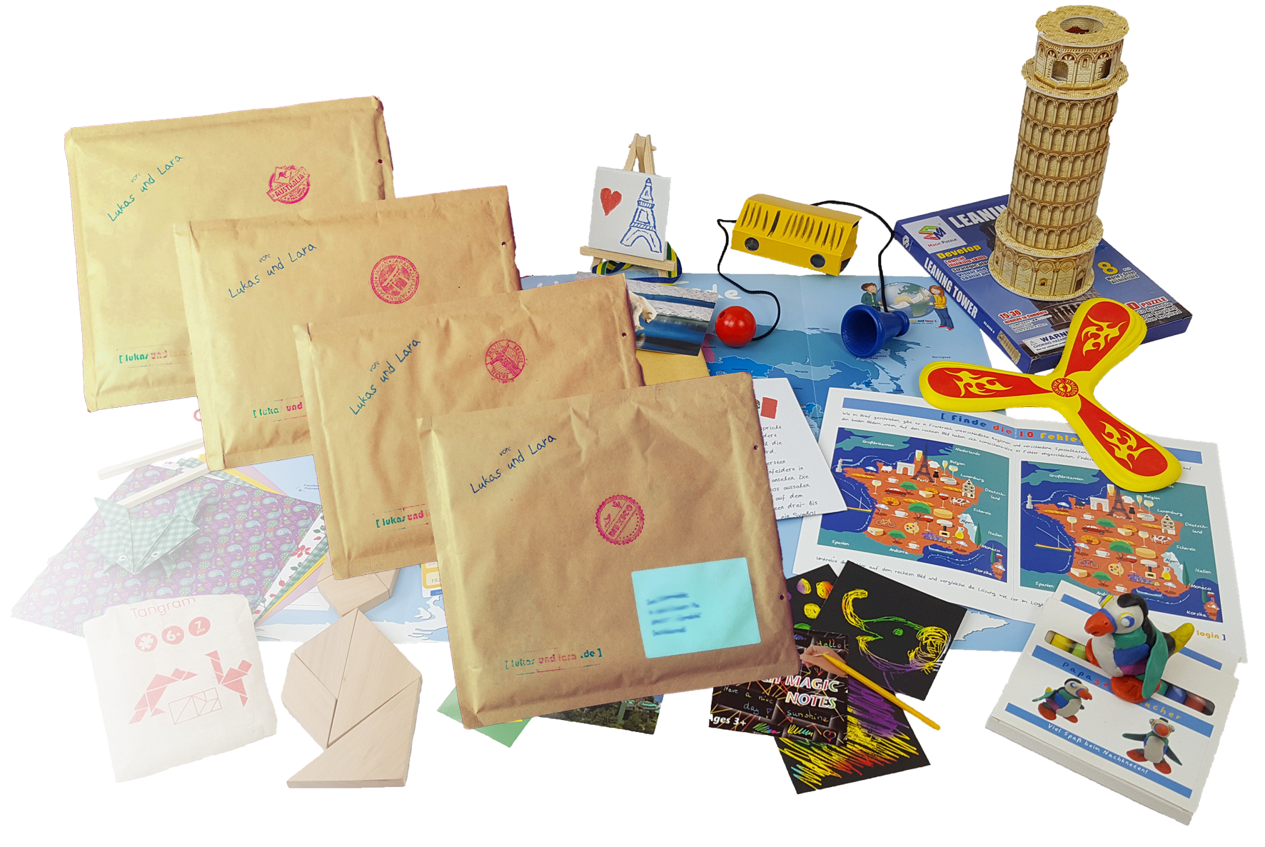 Produktbild Verlängerungen der außergewöhnlichen Weltreise für Kinder