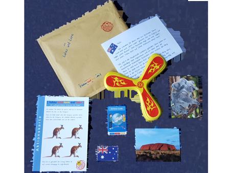 Lukas und Lara auf Tour Brief aus Australien