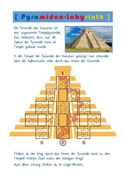 Aktionskarte Mexiko mit Lösung Seite 2