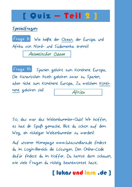 Aktionskarte Startpaket - Lösung Teil 2