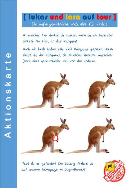 Aktionskarte Australien Lösung Seite 1