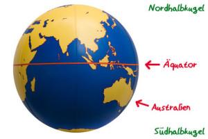Australien-Suedhalbkugel