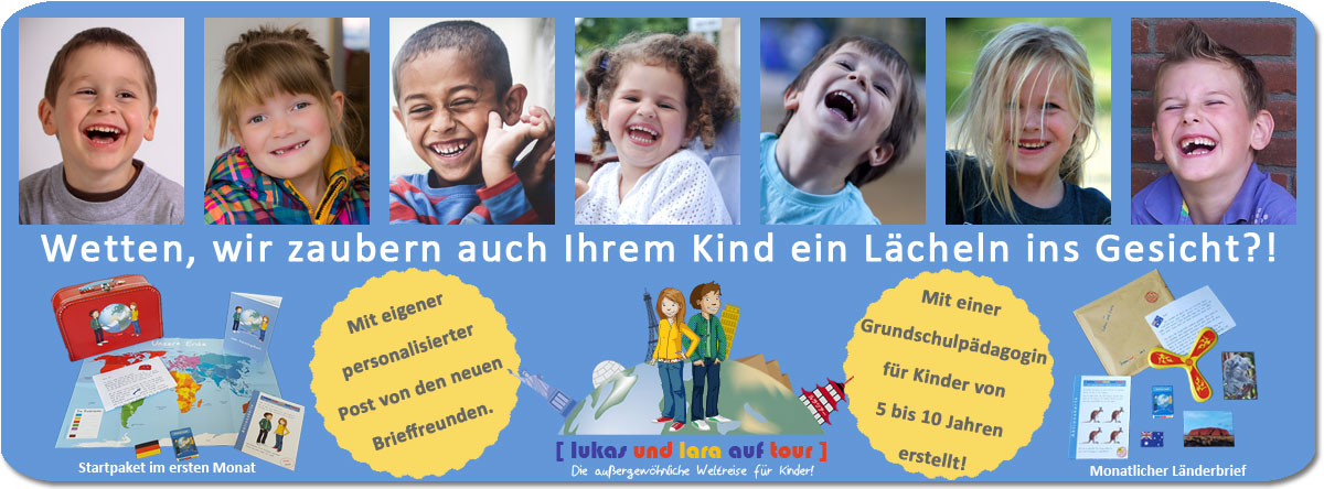 Kinder freuen sich über Lukas und Lara auf Tour