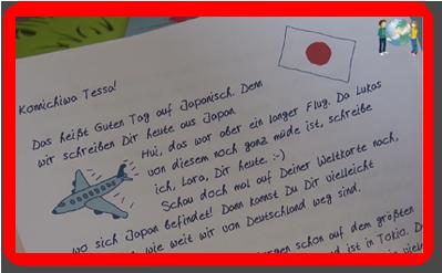 Lukas und Lara auf Tour - Länderbrief Japan