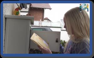 Mädchen bekommt eigene Post