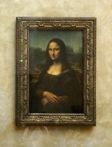 Frankreich Louvre Mona Lisa
