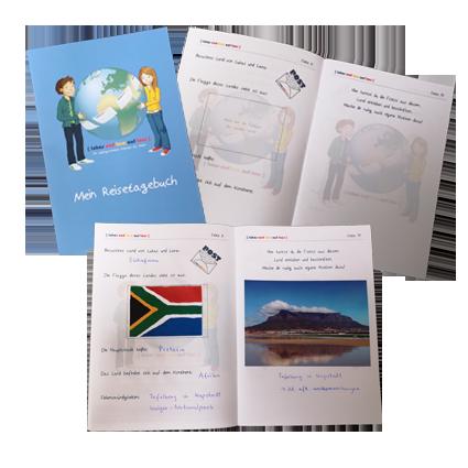 Reisetagebuch Produktbild